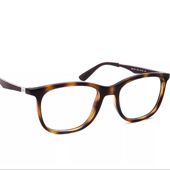 Ray-Ban RX7078 Eye Glasses Brown Tortoise